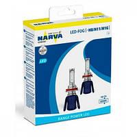 Лампы светодиодные Narva 18013 H8/H11/16 6000K X2 16W PGJ19-2 цена за 2 штуки