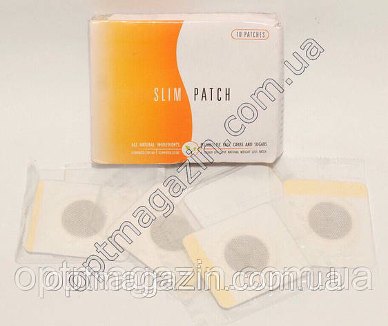 Магнитный пластырь для похудения Slim Patch (10 штук), фото 2