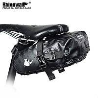 Велосумка підсідельна Rhinowalk водонепроникна чорна