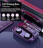 Беспроводные наушники M11 HD Stereo Heavy Bass TWS Wireless Bluetooth Headphone, фото 3