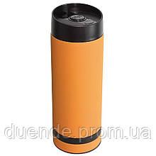 Кружка термос с двойными стенками 380 мл - su 9030415 Оранжевый