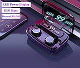 Беспроводные наушники M11 HD Stereo Heavy Bass TWS Wireless Bluetooth Headphone, фото 6