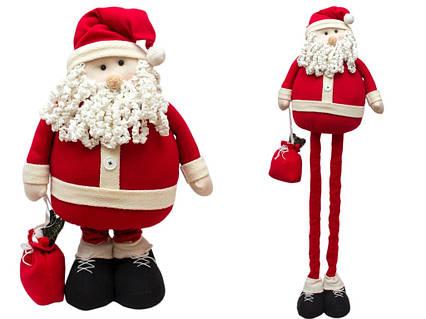 Дед Мороз с выдвижными ногами, 1,4м (000197)