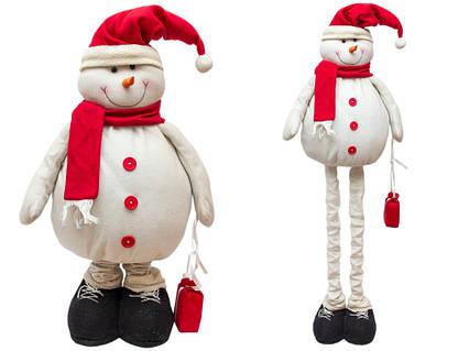 Снеговик с выдвижными ногами, 1,4 м (000203)