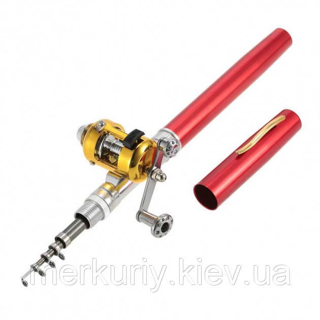 Карманная удочка-ручка Pocket pen fishing rod