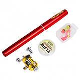 Карманная удочка-ручка Pocket pen fishing rod, фото 4