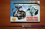 Карманная удочка-ручка Pocket pen fishing rod, фото 5