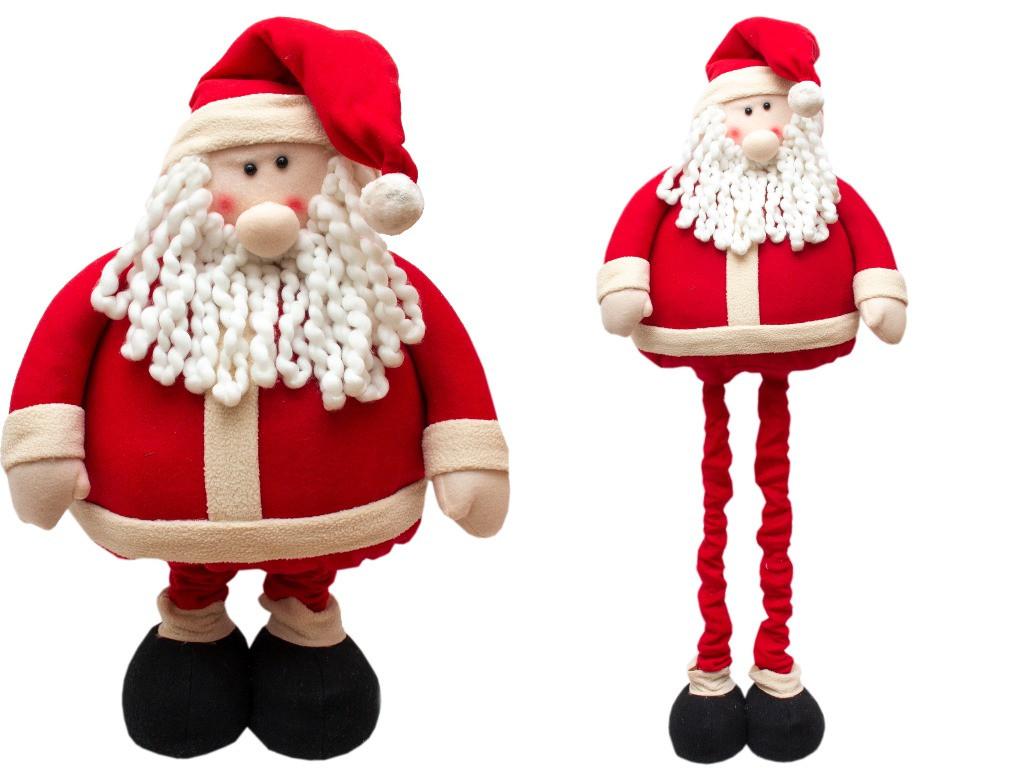 Новогодняя сувенирная фигурка Дед Мороз с выдвижными ногами, 1, 4 м (000937-1)