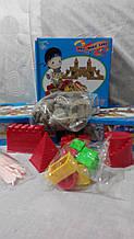 """Дитячий будівельний конструктор """"space magic sand"""". У наборі 2 види форм."""