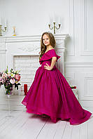 "Модель ""АНЖЕЛІКА"" зі шлейфом - дитяча сукня / детское платье"