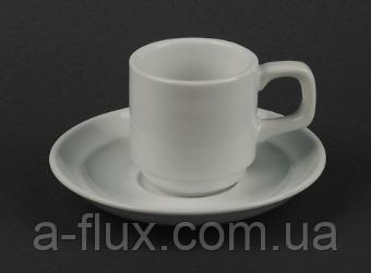 Чашка кофейная с блюдцем 90 мл Китай HR1326