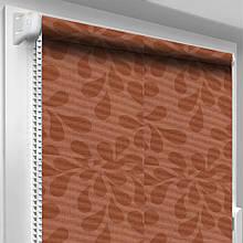 Рулонная штора DecoSharm В1012 Бордовая