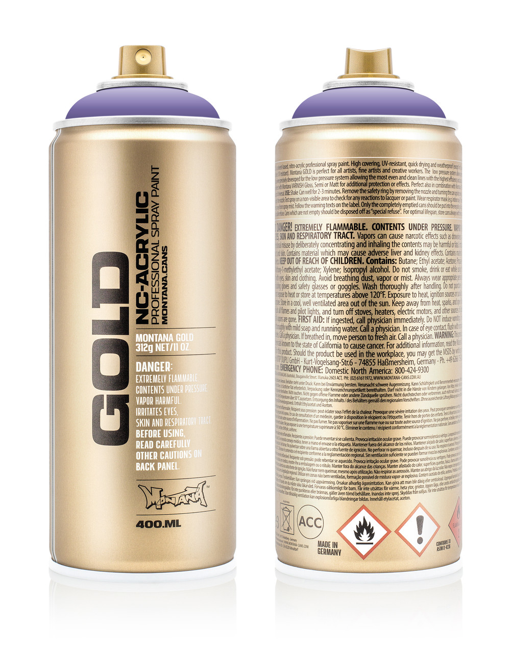 Краска Montana Gold 4130 Тин спирит 400 мл (Teen Spirit) (284526)