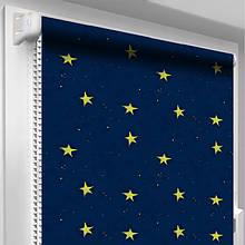 Рулонная штора DecoSharm В310 Синяя
