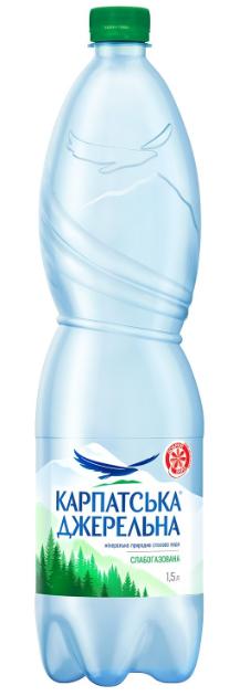 Мін вода Карпатська Джерельна 1,5л слг