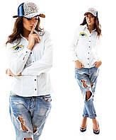 Женская стильная рубаха