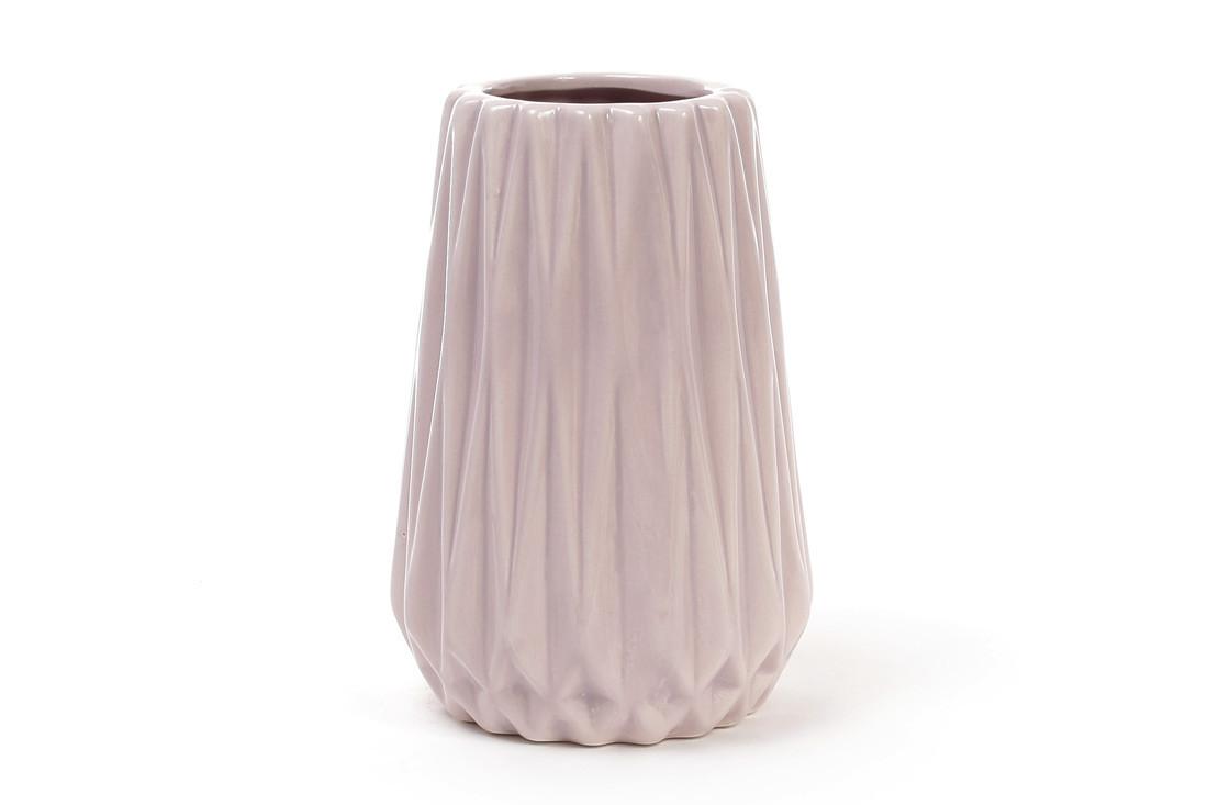 Ваза керамическая 15.5 см, песочная розовая SKL11-249978