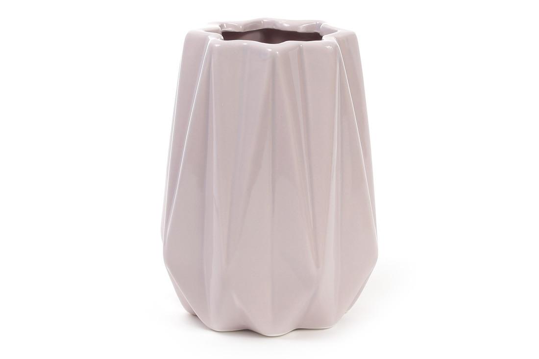 Ваза керамическая 16 см, песочная розовая SKL11-249984