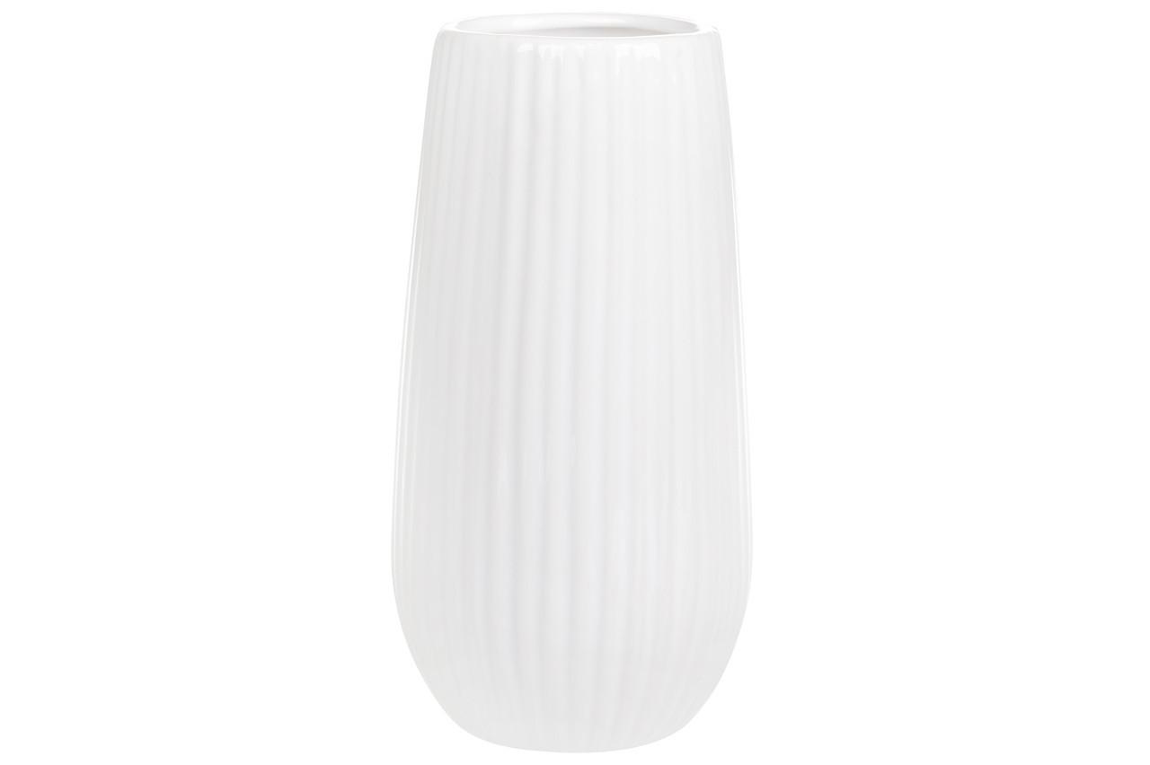 Ваза керамическая 18 см, белая SKL11-249915
