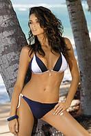 Женский купальник Amber 260 от Marko Польша Темно-синий + белый Реал фото, фото 1