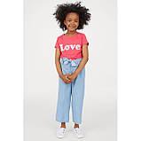 Футболка для дівчинки H&M на зріст 110-116 см, фото 2