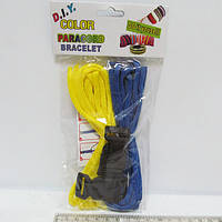 "Набор для творчества ""Шнурки для плетения"", 2шт.+2 замка, OPP"