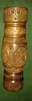 Оригінальна ваза ручної роботи з натурального дерева