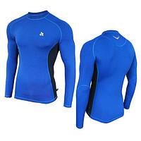 Компрессионная спортивная кофта Radical Fury Duo LS Голубой с синим M