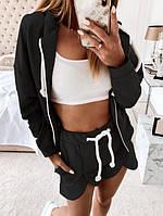 Женский спортивный костюм, женский спортивный костюм-тройка, прогулочный костюм, фото 1