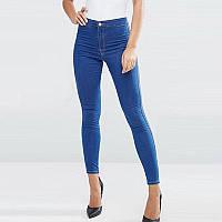 Женские джинсы скинни супер высокая посадка, фото 1