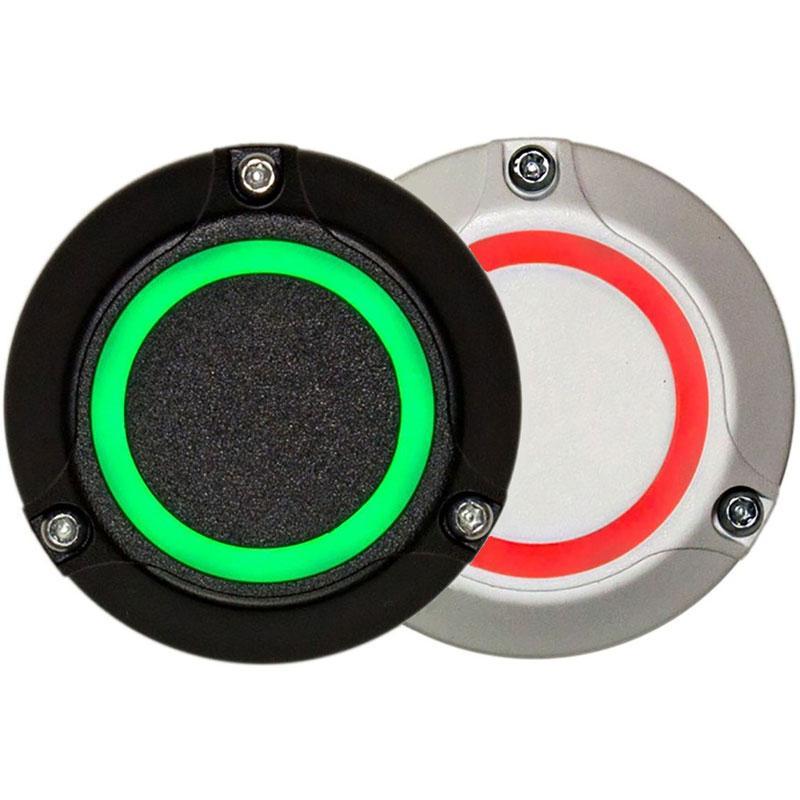 Мініатюрний контролер з вбудованою кнопкою виходу Lumiring LRE-1CBS білий / чорний