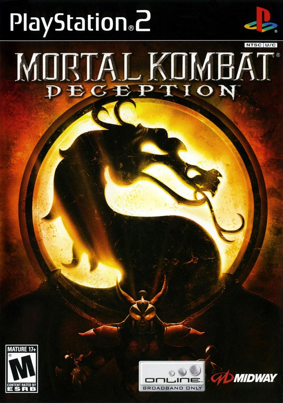 Игра для игровой консоли PlayStation 2, Mortal Kombat - Deception