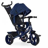 Трехколесный велосипед коляска детский с ручкой M 3113-11L