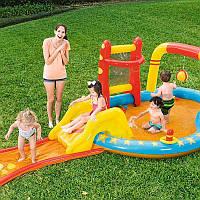 """Водный надувной игровой центр """"Боулинг"""" Bestway 53068 (435-213-117 см)"""