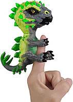 Интерактивная фигурка Фингерлингс динозавр Стегозавр Stegosaurus - Whiplash