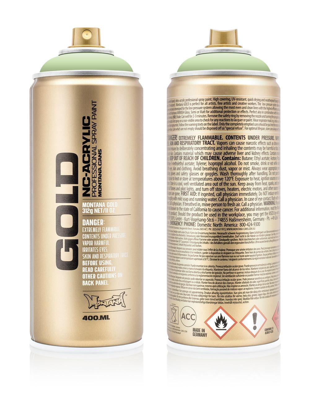 Краска Montana Gold 6010 Липовый зеленый 400 мл (Linden Green) (285035)