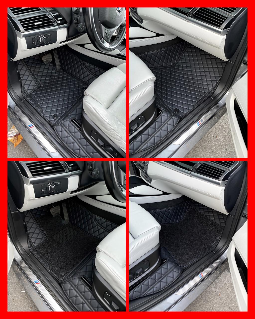 Комплект ковриков из экокожи для Toyota Camry 40