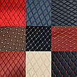 Комплект ковриков из экокожи для Tesla model S, фото 4