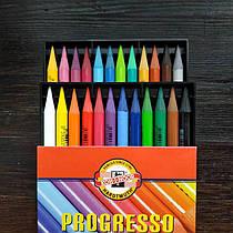Карандаши бездревесные 24 цвета koh-i-noor Progresso 8758