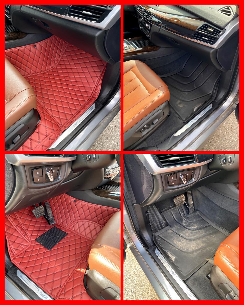 Комплект ковриков из экокожи для Chevrolet Camaro