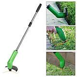 Ручная беспроводная газонокосилка Green Garden Zip Trim Триммер для травы, фото 2