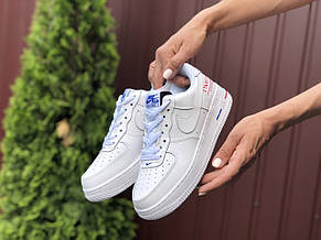 Женские кроссовки Nike Air Force 1 Paris ,белые, фото 3
