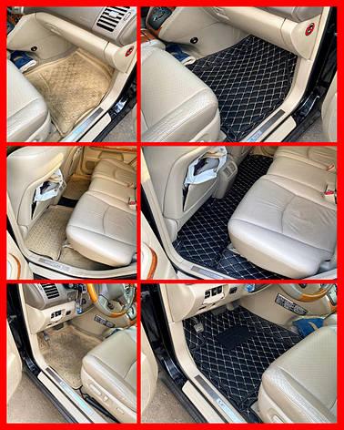 Комплект ковриков из экокожи для Toyota Camry 30, фото 2