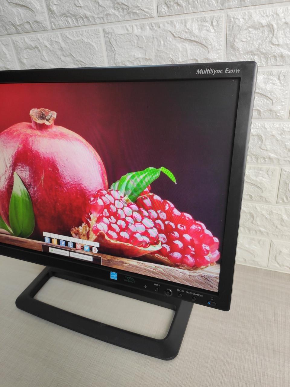 "Монитор 20"" NEC E201W TN+Film LED 1600x900 VGA DVI-I DP супер состояние ЛЭД"