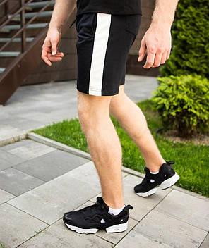 """Мужские шорты """"Lapsha"""" черного цвета, фото 2"""