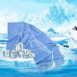 Охлаждающее полотенце спортивное из микрофибры в чехле Быстросохнущее для Спорта и фитнеса cooling towel Серое, фото 9
