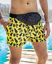 Шорти чоловічі купальні swimming shorts Pool day Ananas жовті, фото 3