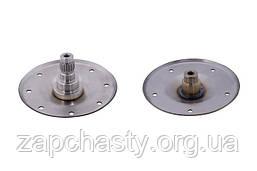 Фланец (опора барабана) для стиральной машины Whirlpool с прямым приводом, нержавейка (комлект)