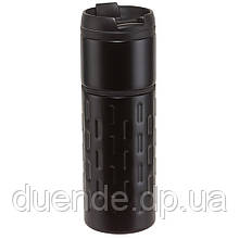 Термокружка с двойными стенками 400 мл - su 9030421 Черный