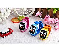 Умные наручные смарт часы для детей Smart Watch Q90 GPS